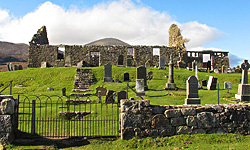 Cill Cross Church, Elgol, Skye
