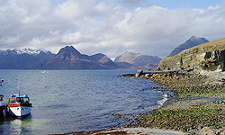 View across to the Cuillins from Elgol, Skye