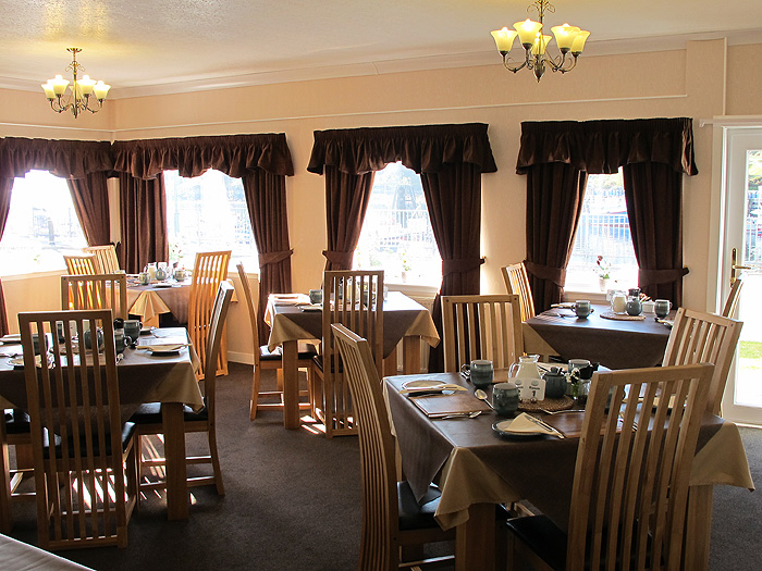 Dining Room, White Heather Hotel, Skye