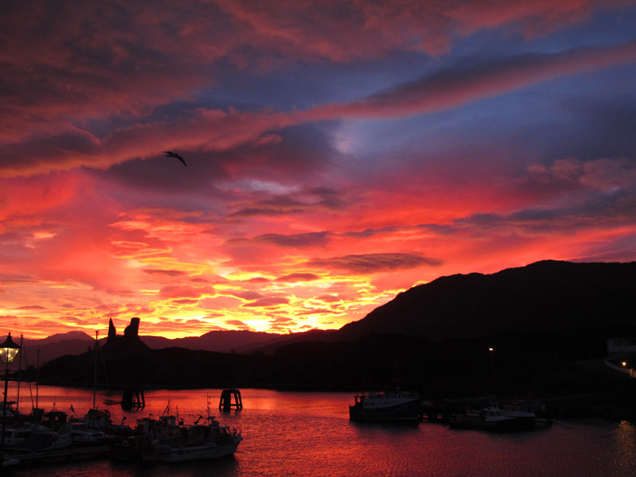 Sunrise, Kyleakin Harbour, Isle of Skye Isle