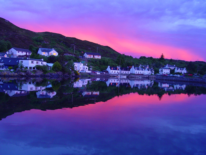 Kyleakin Harbour, Sunset, Isle of Skye