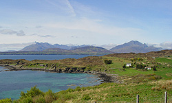 Ord loop road, Skye