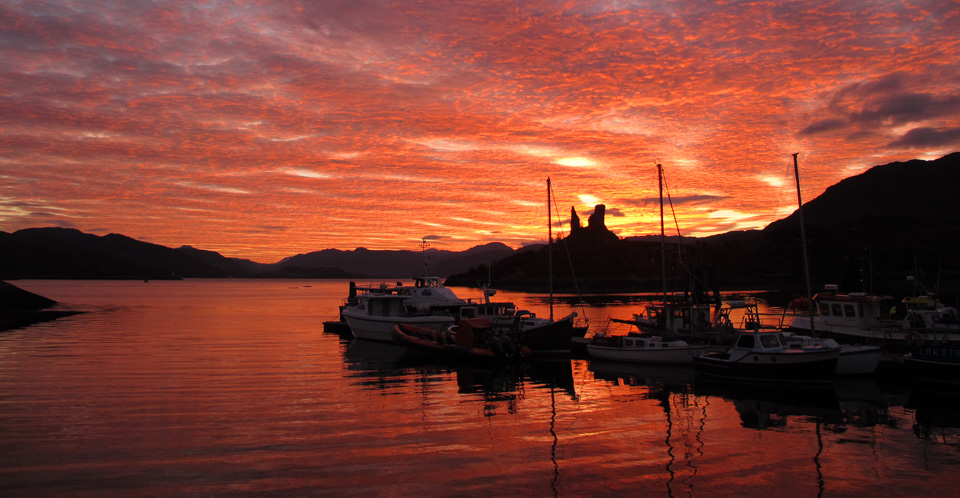 Kyleakin Harbour, Isle of Skye Sunrise